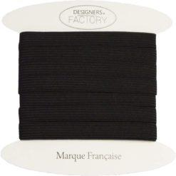 Elastique 8mm noir - Grossiste mercerie
