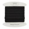 Elastique noir 1cm - grossiste mercerie