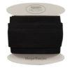 Elastique plat noir 40mm - Grossiste mercerie