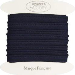 Passepoil coton marine