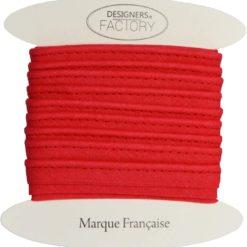 grossiste mercerie passepoil coton rouge
