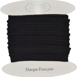 passepoil coton noir