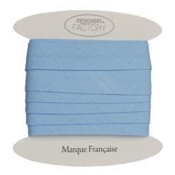 Biais coton bleu layette - grossiste mercerie