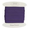 Biais coton violet - grossiste mercerie