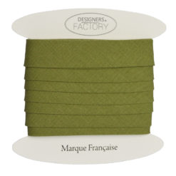 Biais coton vert tilleul - grossiste mercerie