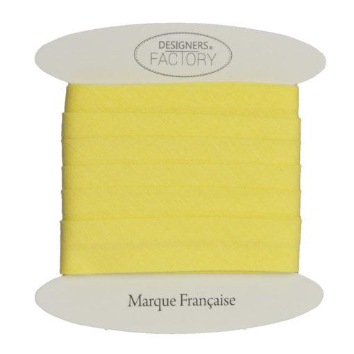 biais coton jaune-grossiste mercerie
