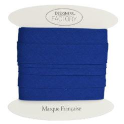 Biais coton bleu roi - grossiste mercerie