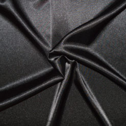 tissu satin noir - grossiste mercerie