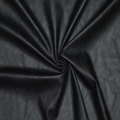 Tssu simili cuir noir